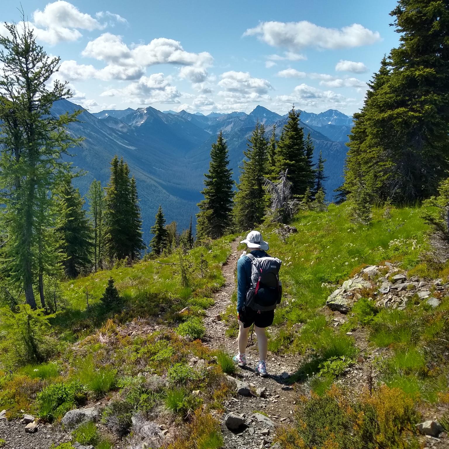 cofounder hiking